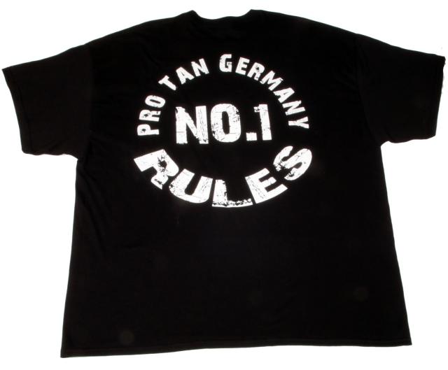 No.1 – Pro Tan Germany RULES – T-Shirt – Pro Tan  86a43e2f4