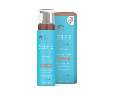 Selfie Tan'n Go Bronzing Mousse MEDIUM DARK