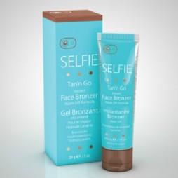 Selfie Tan'n Go - Instant Face Bronzer Wash Off Formula