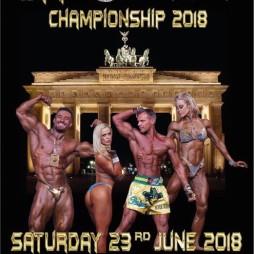 2018 WFF European Championships